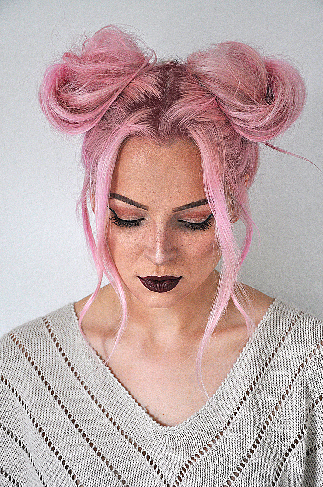 Quick And Easy Space Buns Hairstyle Tutorial Mayalamode